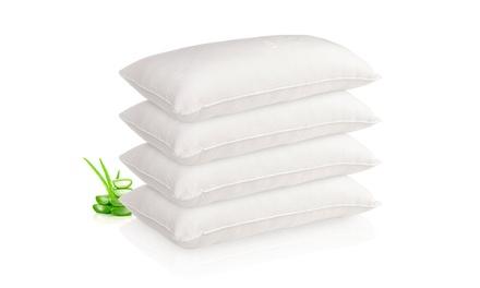 Pack de 2 o 4 almohadas Visco Copos con aloe vera