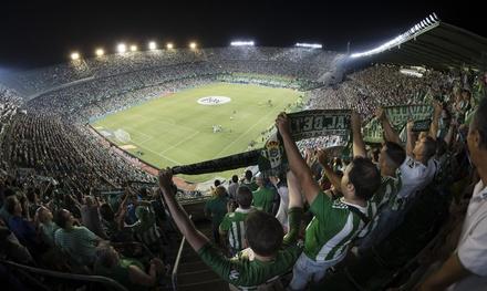 Entrada individual para el partido Real Betis vs Leganés el día 30 de septiembre por 29,95€